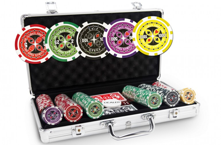Mallette Ultimate Poker Chips 300 jetons
