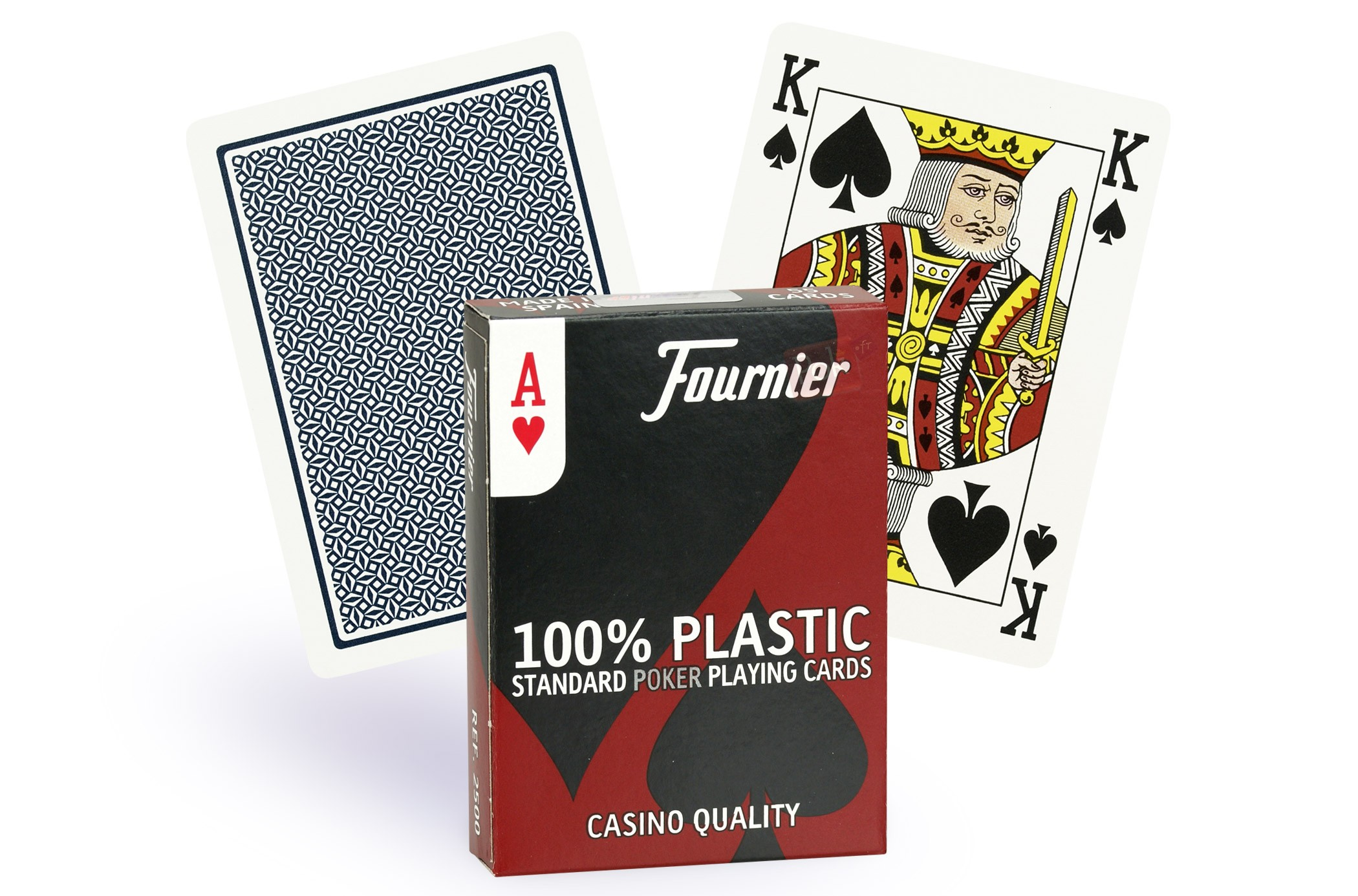 Cartes de poker index regular