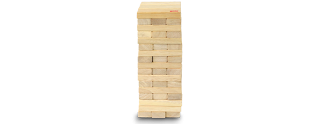 Tour infernale Jenga