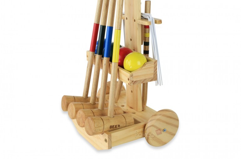 Set de Croquet Original & Chariot