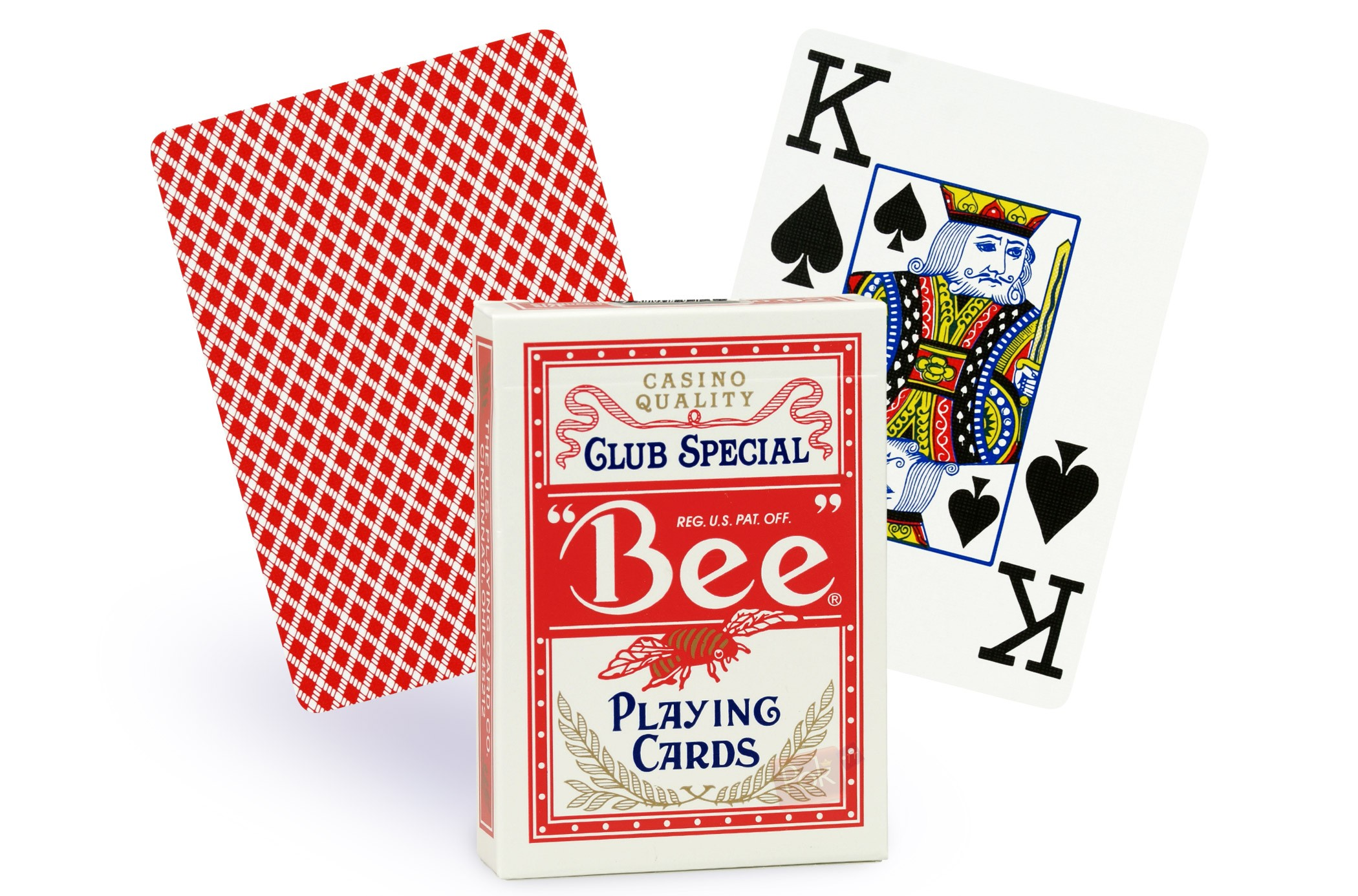 Cartes de poker index jumbo