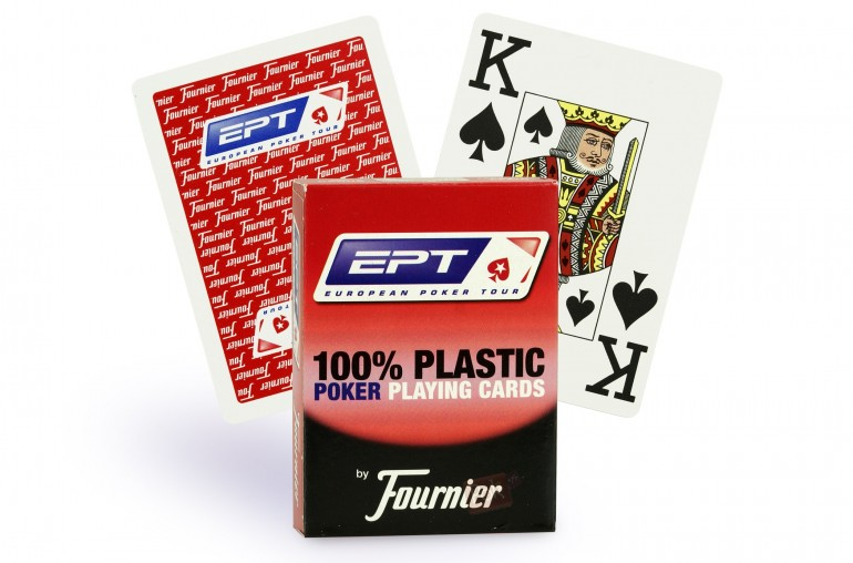 Cartes Fournier EPT Poker Jumbo (rouge)