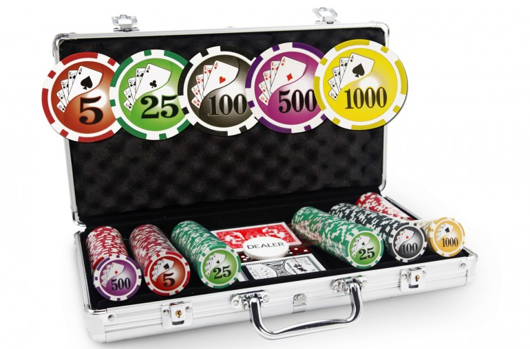 Mallette Royal Flush 300 jetons