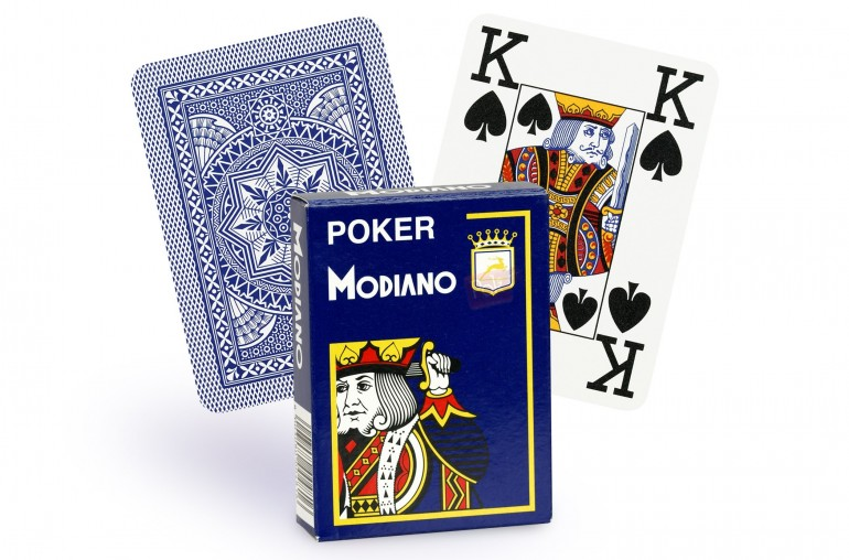 Cartes Modiano 4 index (bleu)