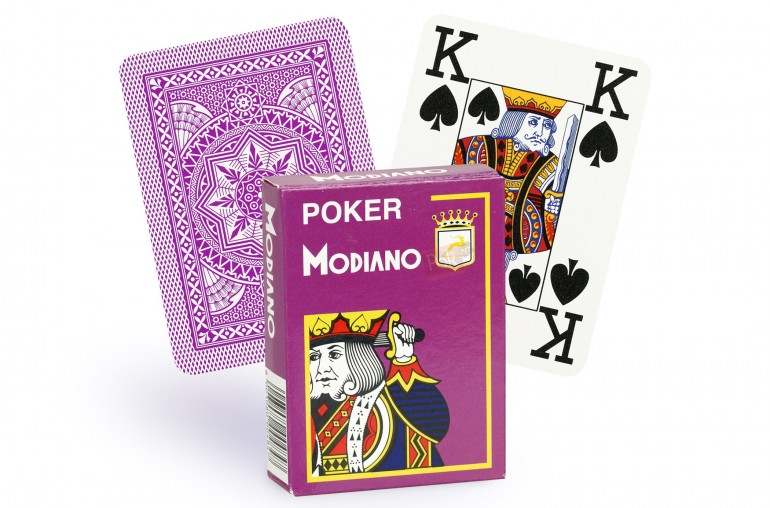 Cartes Modiano 4 index (mauve)