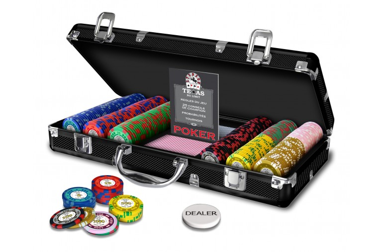 Mallette Poker Liberty 300 jetons