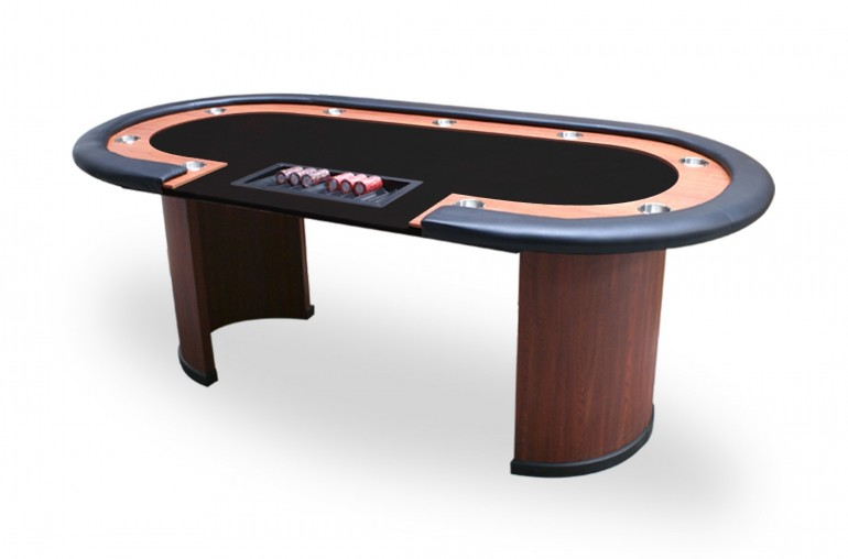 Table Nevada 4 Dealer (noir)