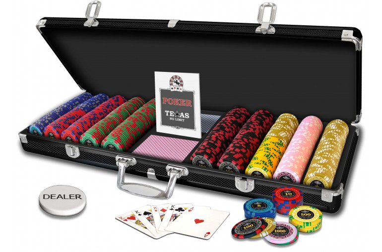 Mallette Poker Royal 500 jetons
