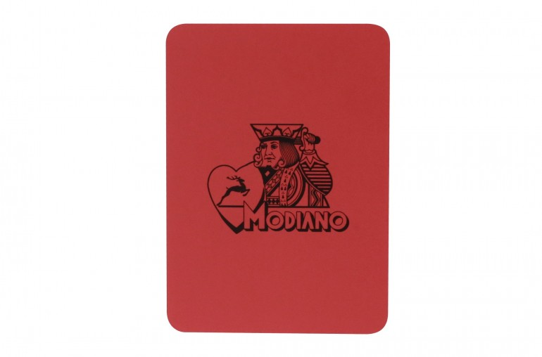 Carte de Coupe Modiano (Rouge)